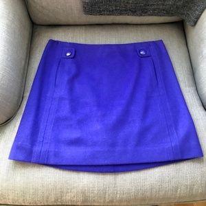 J.Crew Felted Wool Mini Skirt